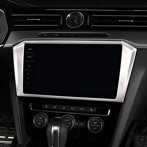 FFZ Parts Navi Radio Rahmen Blende Abdeckung Passend F/ür Passat B8 TDI TSI GTE R line