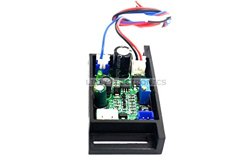 12V Circuit Power Supply Driver Board for 445nm 450nm 50mW-800mW Blue Laser Diode LD Module w/TTL