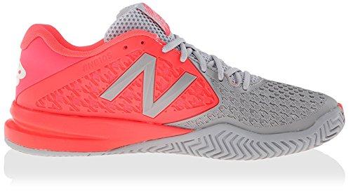New Balance Damen 996v2 Leichtgewicht Tennisschuh Rosa / Grau