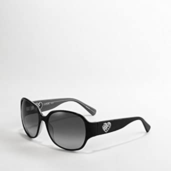 9592345b56 ... promo code for coach greer heart signature sunglasses black s8019 55688  24d42