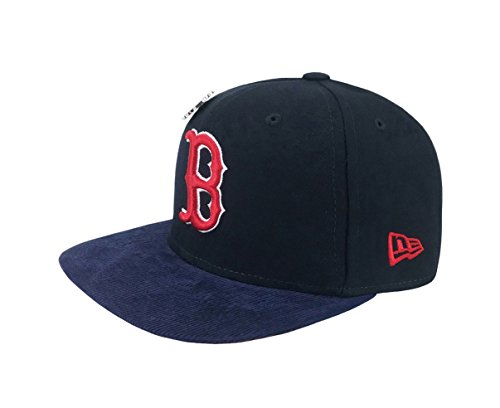 New Era 9Fifty Hat Boston Red Sox Pin 2013 World Series Navy Blue Snapback Cap (World Red Sox Series Hat)