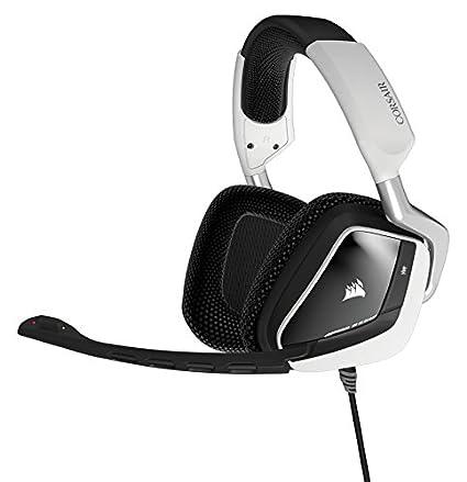 Corsair VOID USB RGB Gaming Headset, White (CA-9011139-NA)
