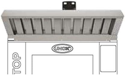 Unox Campana con vapor integrado condensador para GN 1/1 mesa dispositivos: Amazon.es: Industria, empresas y ciencia