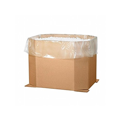 Box Packaging Triple Wall Octagon Bulk Bin, 46'' x 38'' x 36'', Kraft - Bundle of 5 by Box Packaging