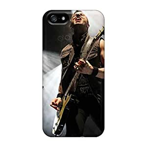 KellyLast Iphone 5/5s Protective Cell-phone Hard Cover Support Personal Customs Colorful Papa Roach Skin [jXR10674HBVd]