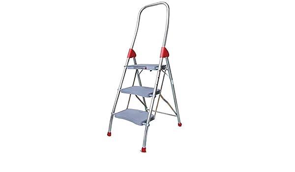 Taburete Escalera No resbala Grandes Pasos Escalera de Aluminio Seguro y Conveniente PP Antideslizante del Pedal Casa Taburete de Paso al Aire Libre: Amazon.es: Hogar