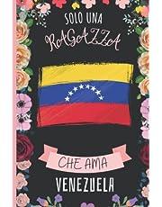 Solo Una Ragazza Che Ama Venezuela: Diario Del Venezuela | Quaderno Per Amante Dei Cani | Taccuino Regalo Per Gli Amanti Dei Venezuela