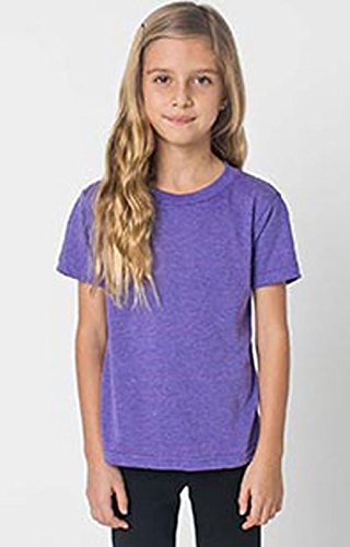 Orchid Tri (Ultra Club American Apparel Toddler Triblend Short-Sleeve T-Shirt (Tri-Orchid, Toddler 4))
