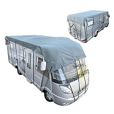 PAT Europe B.V. Dachschutzplane Wohnwagen,Wohnmobil Dachschutzhülle 10 X 3 M Abdeckung Garage