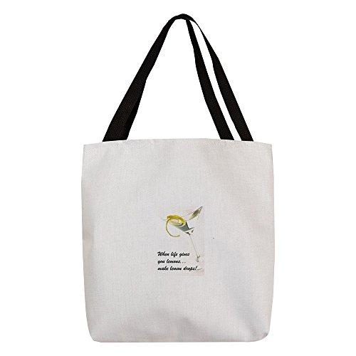 CafePress - FIN-Lemon-Drops.Png - Polyester Tote Bag