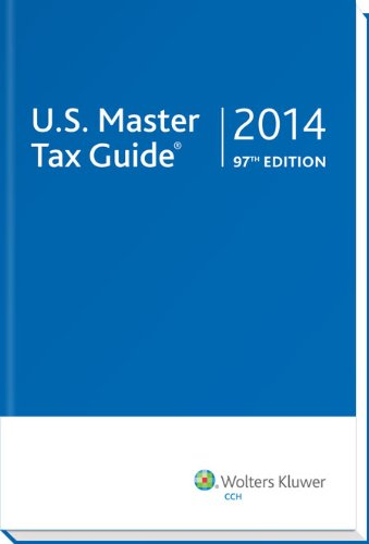 U.S. Master Tax Guide: 2014 (State Of New Jersey Sales Tax Guide)