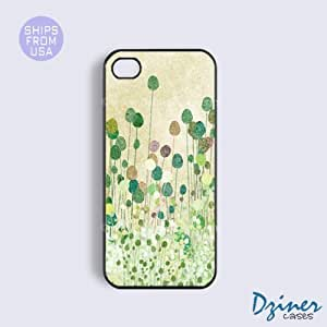 iPhone 5c Tough Case - Vintage Green Tree iPhone Cover
