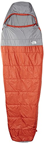 The North Face Aleutian 50/10 Sleeping Bag Red Clay/Zinc Grey Size Regular