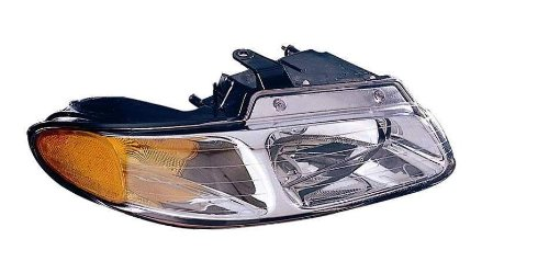 Plymouth Voyager Replacement Headlight - Depo 333-1110R-ASN Dodge Caravan/Plymouth Voyager Passenger Side Replacement Headlight Assembly