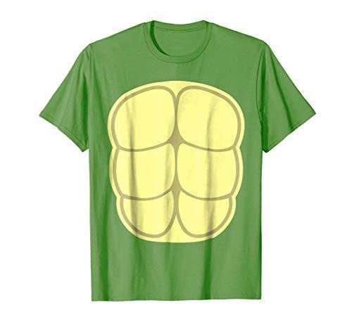 Funny Halloween Shirt Turtle Shell Costume Animal Lover