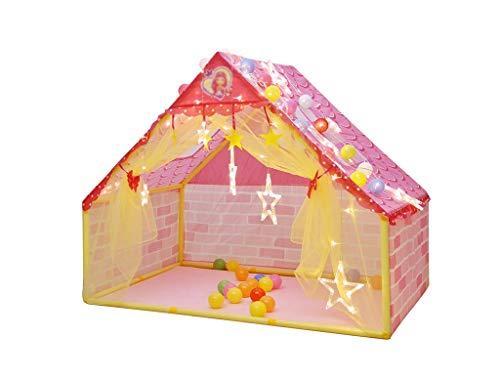 邪悪なノミネート幹ZYH 家庭用ゲームハウス、子供テントハウス屋内屋外の男の子の女の子の城の分割ベッドの工芸品133 * 90.5 * 106CM 広いスペース