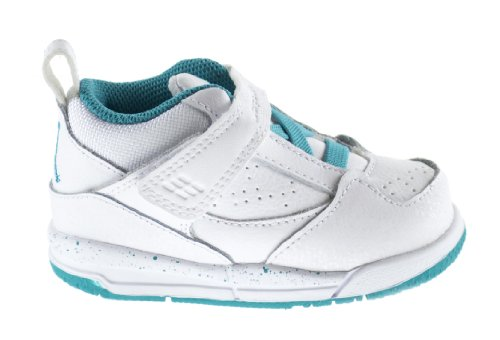 Nike Flight 45 (GT) Baby Toddlers Shoes White/Turbo Green...