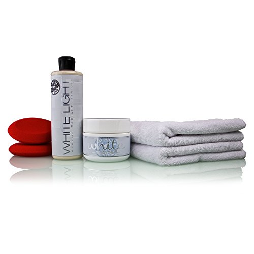 Chemical Guys HOL202 - White Paint Maintenance Kit (6 Items) (Best Car Wax For White Paint)