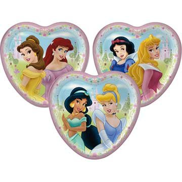 - Disney Princess Dessert Plates, 8ct
