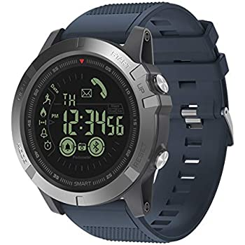 Sports Smart Watch, T1 Tact Digital Outdoor Sports Smartwatch for Men with Pedometer, Calorie Counter, Distance, Stopwatch, Clock Alarm, Notifications for ...