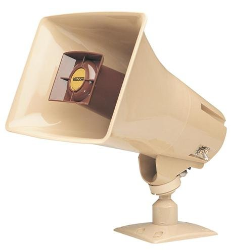 VALCOM V-1030C 5Watt 1Way Paging Horn BEIGE