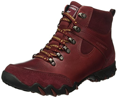 Allrounder by Mephisto Nelja C.suede 11/W.leather 11 Winter Red - Zapatillas de nordic walking Mujer Winter Red