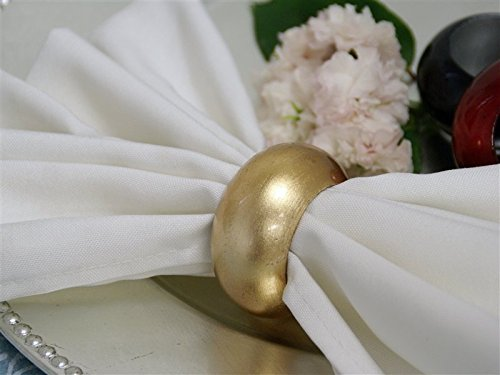 Gold Napkin Rings Acrylic