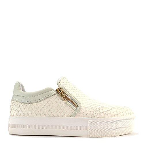 Ash Zapatos Jordy Zapatillas de Deporte, Mujer Blanco