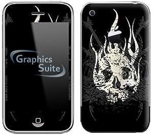 Guitar Skull Skin for Apple iPhone 3G or 3G S