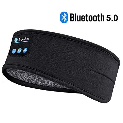 Sleep Headphones Bluetooth Headband-Wireless Sports Headband Headphones with Ultra-Soft…
