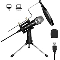 Archeer Professional Plug & Play Condenser Studio Microphone
