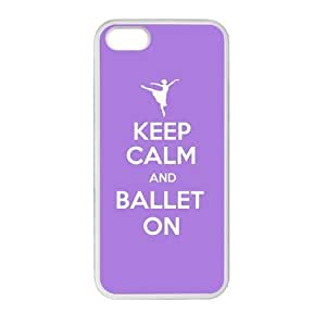 DIY Design Cute Ballerina Ballet Dancer-Protective TPU Cover Case for iPhone 5/5S (Laser Technology)case Perfect as Christmas gift02
