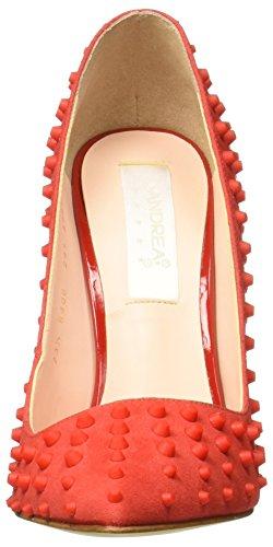 Rojo Mujer Zapatos para 2413747 Andrea de Tacón fYURqgw