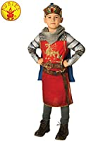 Rubie's Boys' King Arthur Child Costume, Red, 9-10 Years