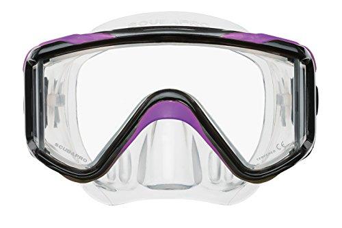 ScubaPro Crystal Vu Plus Dive Mask w/o Purge (Purple)