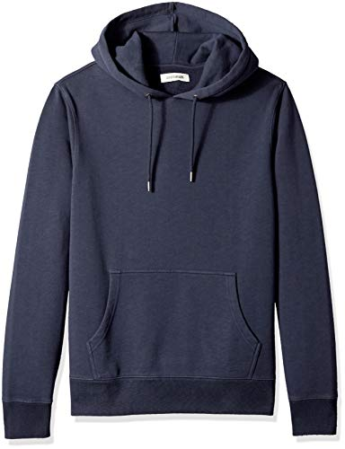 Goodthreads Men's Pullover Fleece Hoodie, Navy Eclipse, Medium ()