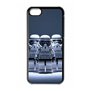 iPhone 5c Cell Phone Case Black Star Wars