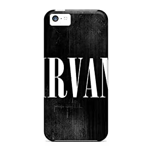 Durable Hard Cell-phone Cases For Iphone 5c With Allow Personal Design Nice Nirvana Image RichardBingley