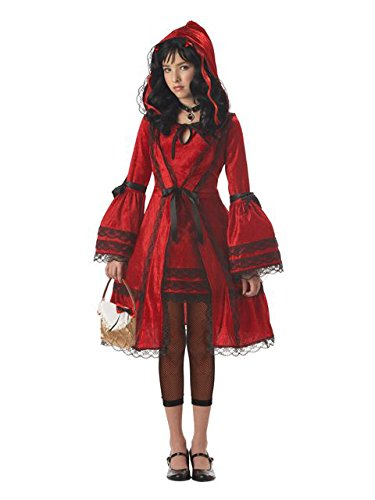 California Costumes Girls Tween Red Riding Hood Costume, X-Large ()