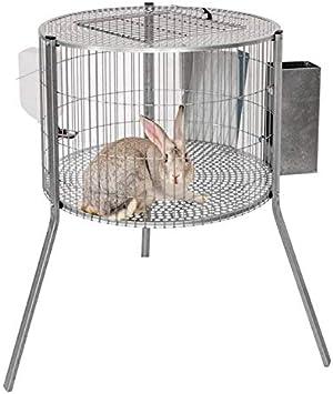 Suinga Jaula Conejos 69x44 cm. Recomendada para machos, con el Objetivo de facilitar la copilación con la Hembra.