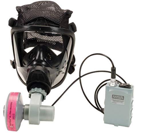 MSA Small OptimAir Series Full Mask Air Purifying Respirator -  MSA Mine Safety Appliances Co
