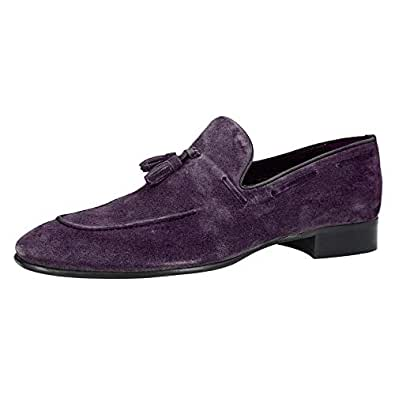 Konfidenz Lilac Loafers & Moccasian For Men