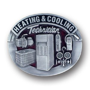 Belt Buckle - Heating & Cooling Technician - Fan Belt Buckle