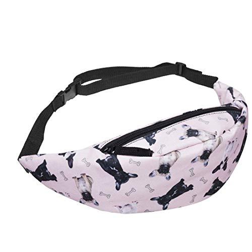 Borsa a tracolla per borsa a tracolla tascabile a 3 tasche con manico 3D a mano (Colore : Multicolor2, Dimensione : -) Multicolor3