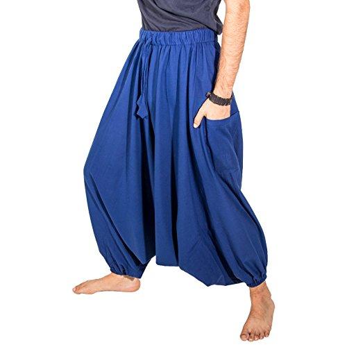Kunst Turque Blue Blau Pantalon Tiefes Und Harem À Magie La vwrvSOBq