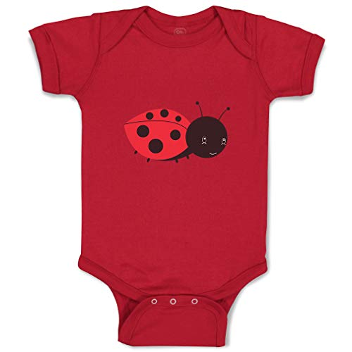 Custom Boy & Girl Baby Bodysuit Ladybug Funny Cotton Baby Clothes Garnet Design Only Newborn