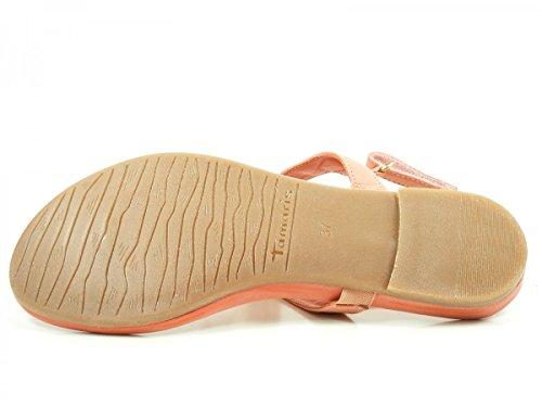 Tamaris 1-28122-26 Sandalias fashion de cuero mujer Rosa