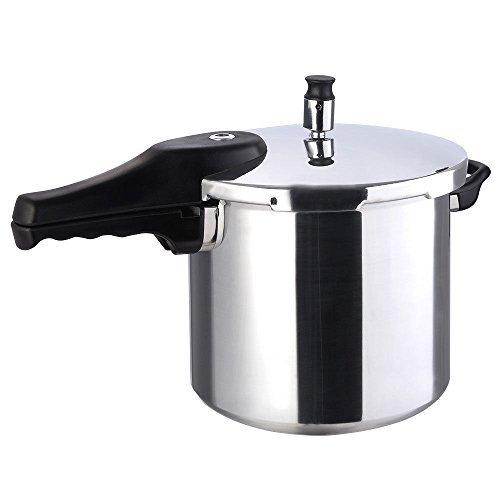 New 6-quart Qt Aluminum Pressure Cooker Fast Cooker Pot Kitchen by Halothailand