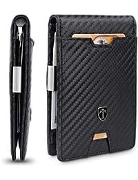 Mens Wallet Money Clip PHOENIX Front Pocket Slim RFID Bifold Gifts