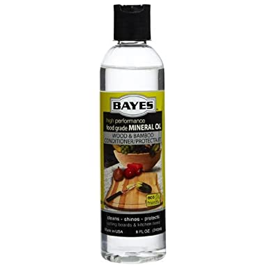Bayes Mineral Oil Wood Bamboo Protectant 8oz